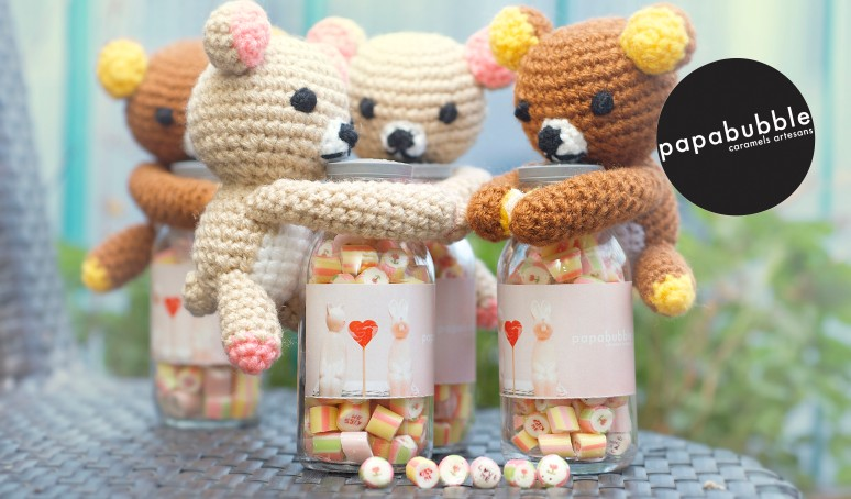 Limited Beary Cute candy on sales now! VALENTINE edition.